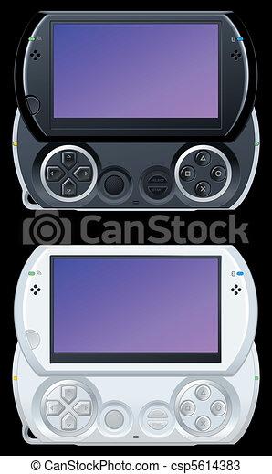 portable video game console - csp5614383