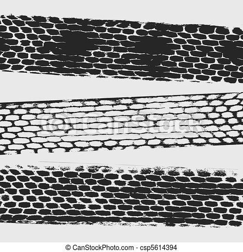 tire traces - csp5614394