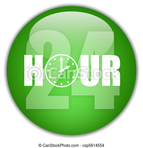 Open 24 hour - csp5614554