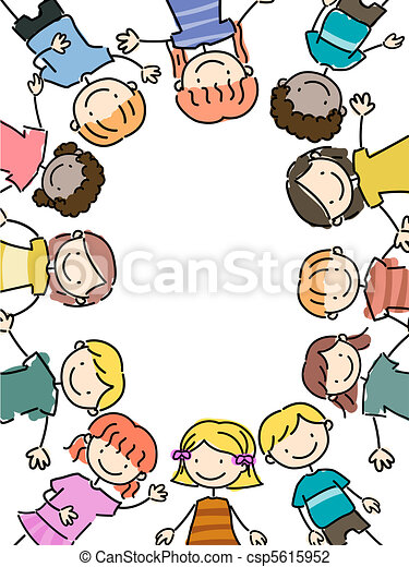 Clipart Di Cornice Bambini Illustration Di Kids