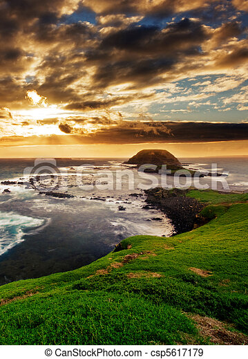 Gorgeous Coastline - csp5617179