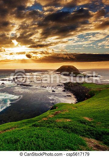 Gorgeous Coastline - csp5617179
