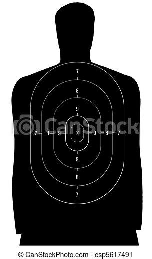 Shooting target - csp5617491