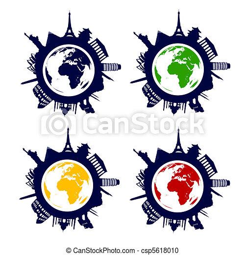 world landmarks - csp5618010