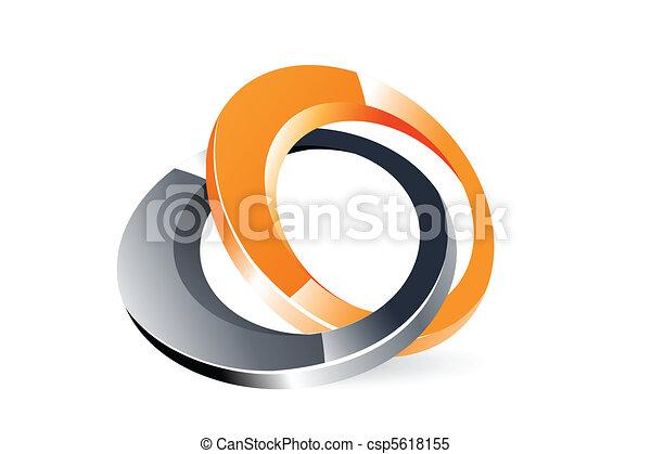 stylish logo - csp5618155