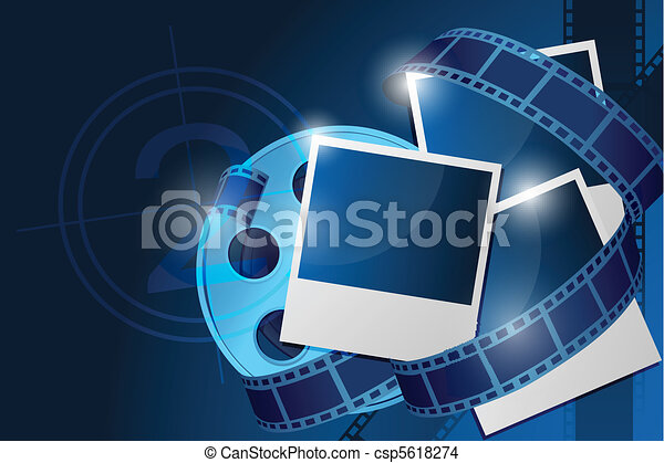 reel with picture - csp5618274