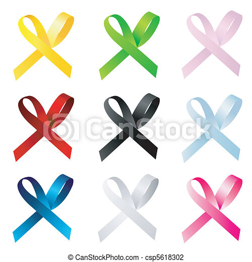 awareness ribbons - csp5618302