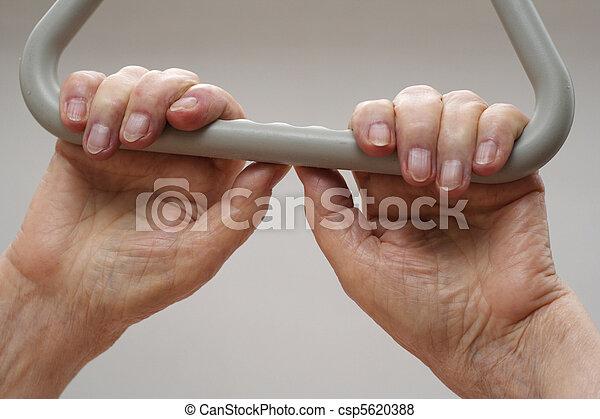 Hands of an elderly person - csp5620388