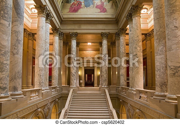 Minnesota Supreme Court Entrance - csp5620402
