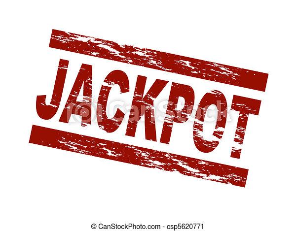 Stamp - Jackpot - csp5620771