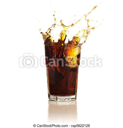 beverage splash - csp5622128