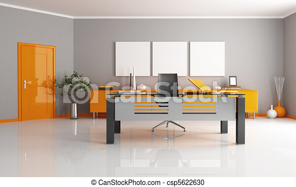 contemporary office - csp5622630