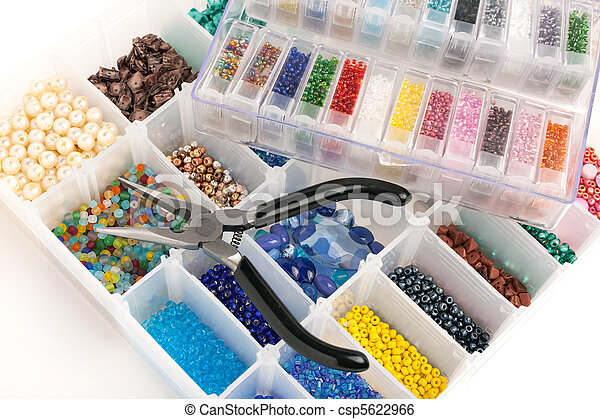 Beads for Jewelry Making - csp5622966