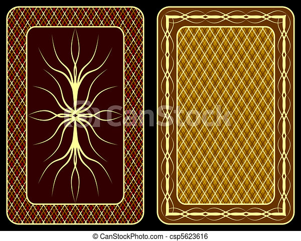 Playing cards. - csp5623616