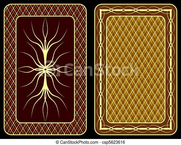 Playing cards. - csp5623616