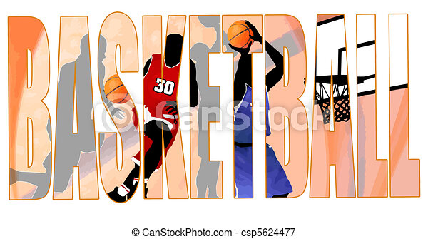 Basketball title - csp5624477