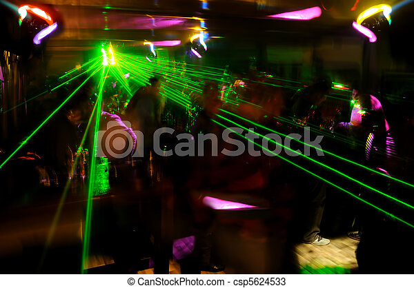 Clubbing atmosphere  - csp5624533