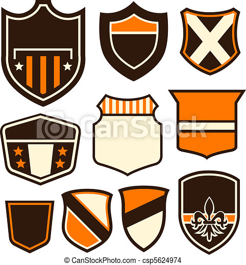 badge symbol design - csp5624974