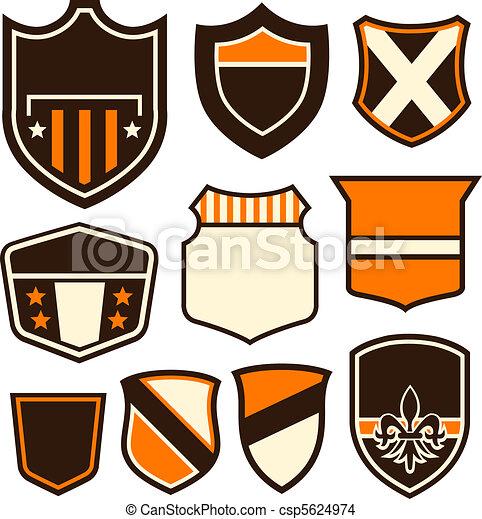 badge symbol design  - csp5624974