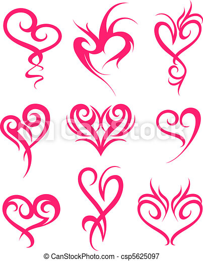heart symbol design - csp5625097
