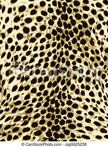 leopard fashion animal skin print - csp5625238