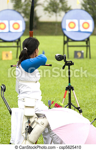 Wheel Chair Archery for Disabled