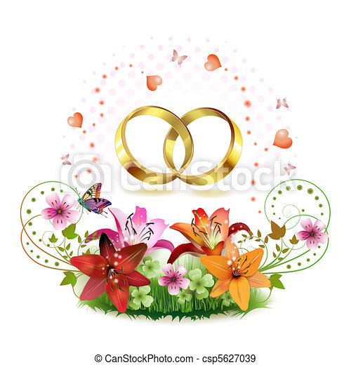 Two wedding ring - csp5627039