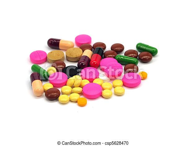 pharmaceutical pills and capsules - csp5628470