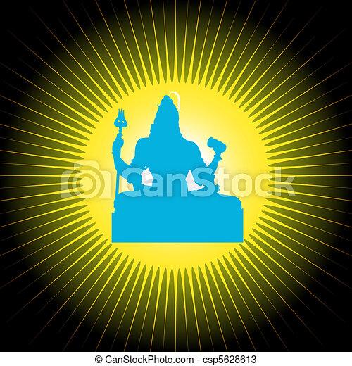 Indian God Shiva - csp5628613