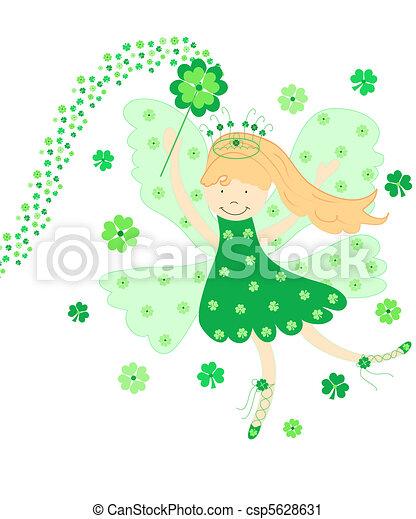 Good luck fairy - csp5628631