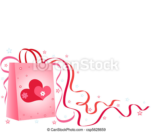 Gift bag - csp5628659