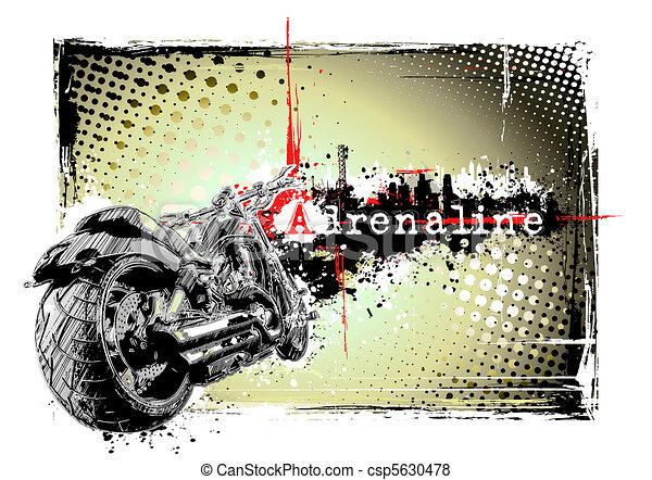 motorbike frame - csp5630478