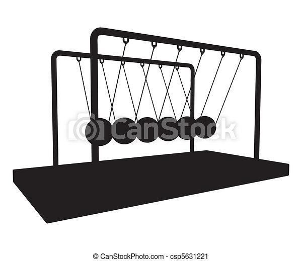 Metal Metronome Balancing Balls - csp5631221