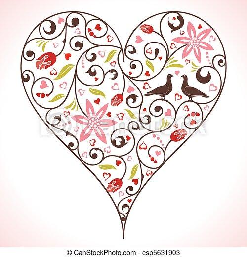 Valentines Day - csp5631903