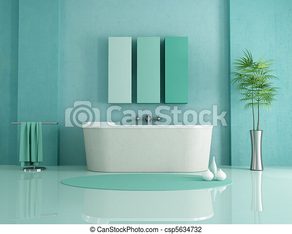 minimalist bathroom - csp5634732