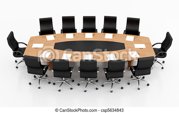 Conference Table Icon Conference Table Csp5634843
