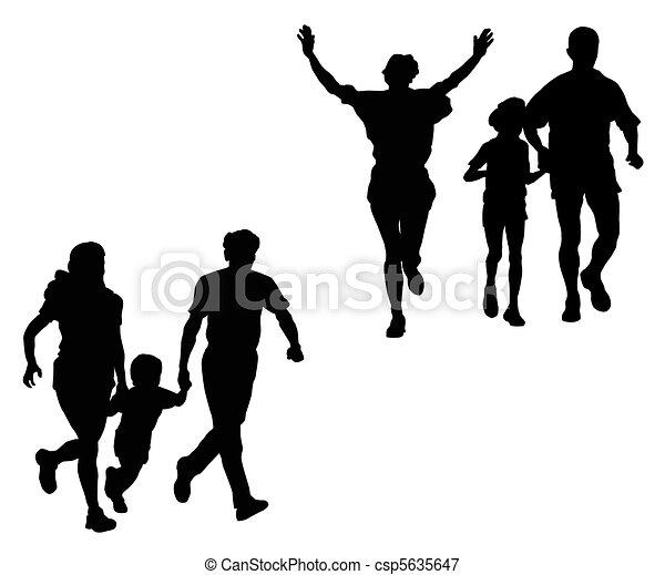 Sports family - csp5635647