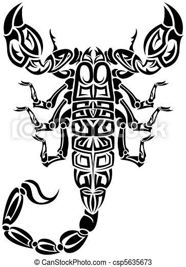 Scorpion tribal - csp5635673