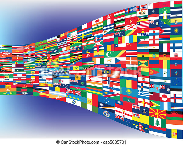 World flags - csp5635701