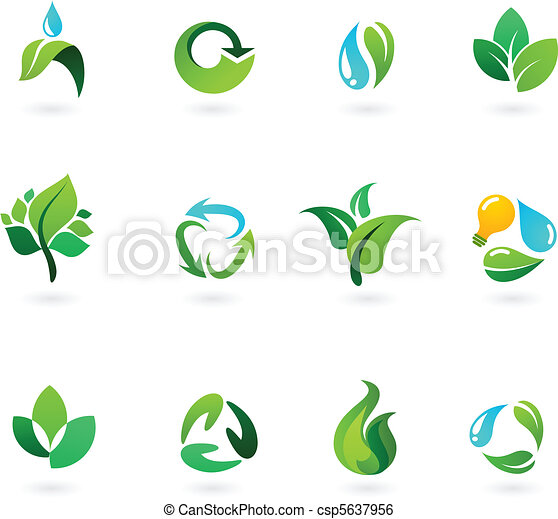 Environmental icons - csp5637956