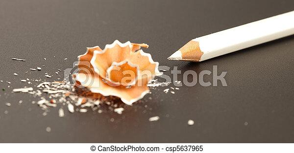 crayon shaving