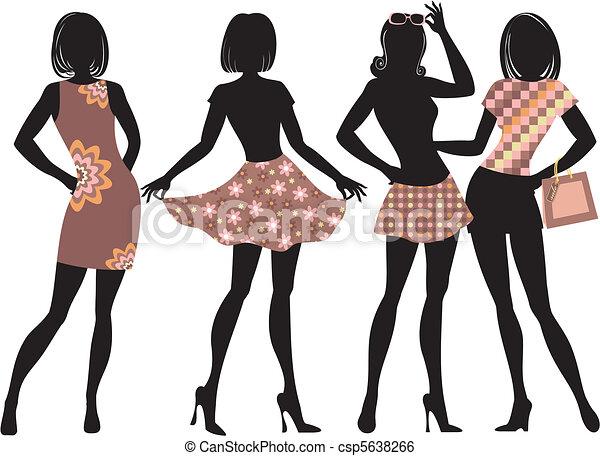 fashion gerls - csp5638266