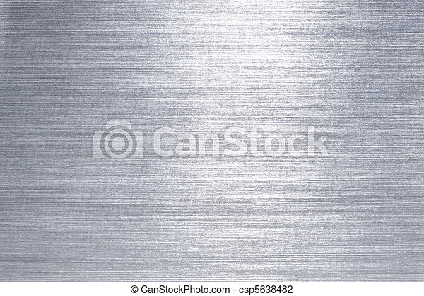Brushed metal plate - csp5638482