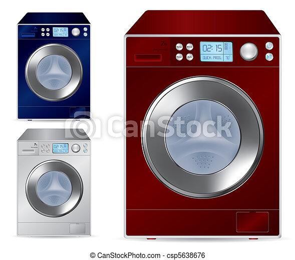 front loading washing machine - csp5638676