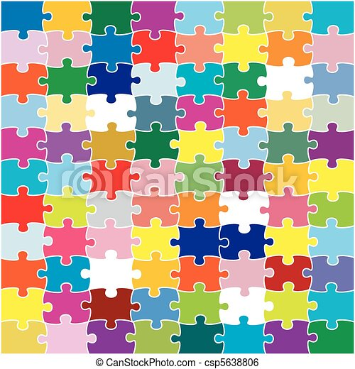 Puzzle, jigsaw - csp5638806