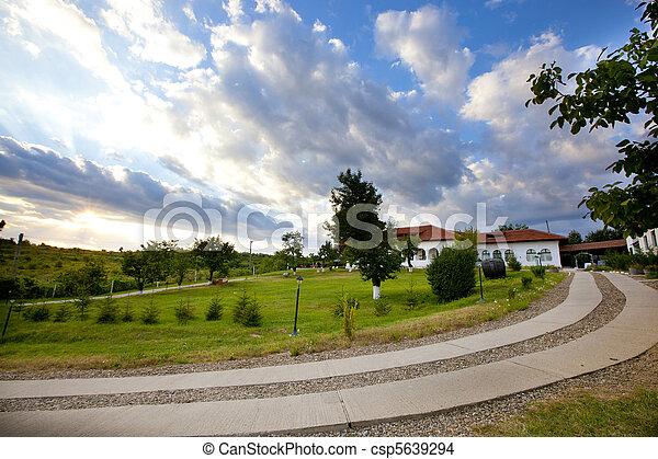 Travel Destinations, Dusk, Relaxation - csp5639294