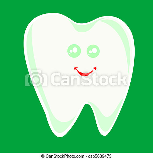 winking happy smiling health tooth - csp5639473