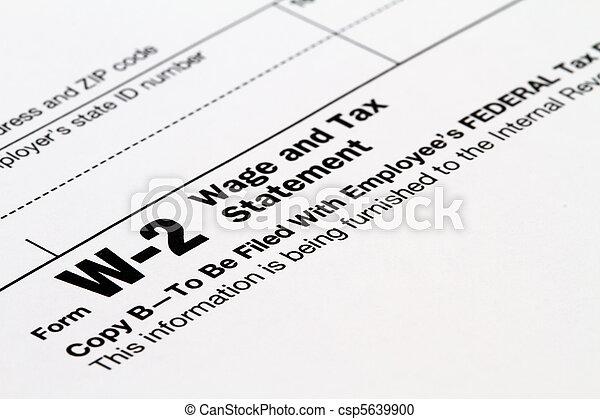 tax w2 form