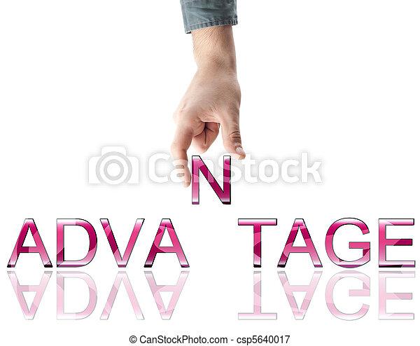Advantage word