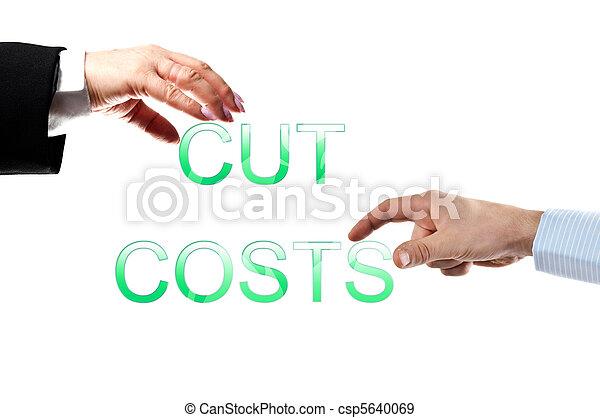 Cut costs words